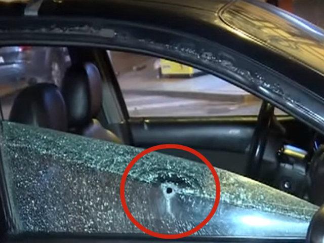 Surquillo: taxista es baleado por defender a jovencita y frustrar robo