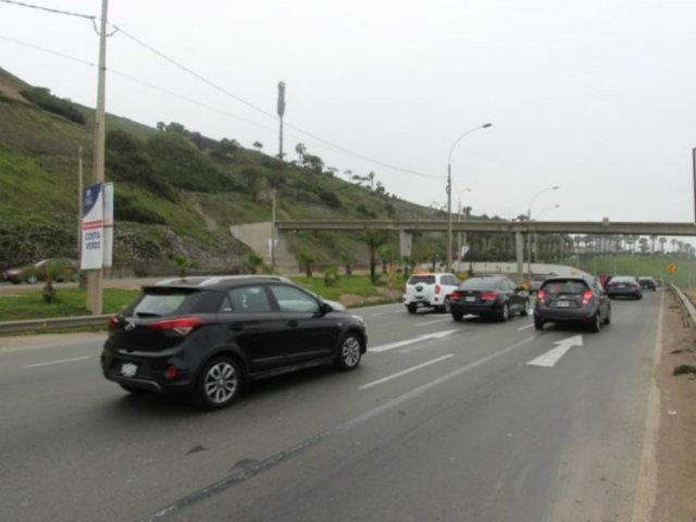 Costa Verde: conductores no respetan nuevos límites de velocidad en el circuito de playas