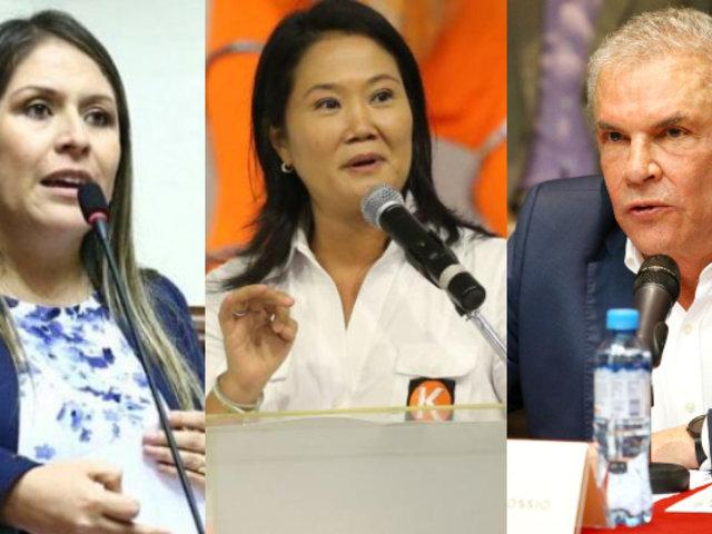 Yeni Vilcatoma considera que Keiko Fujimori y Luis Castañeda deben retirarse de la política