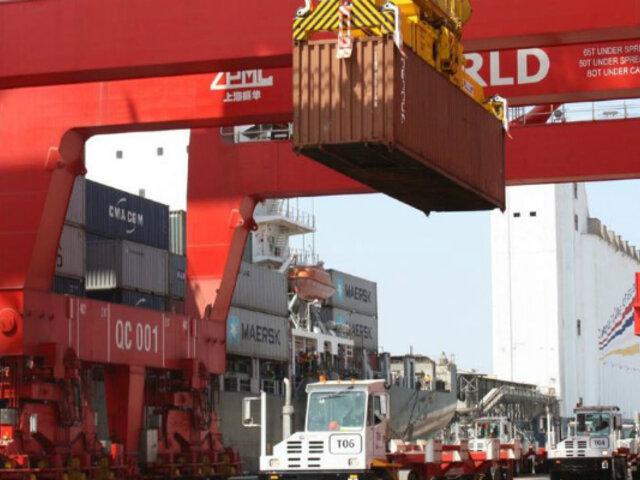 Mincetur: exportaciones peruanas crecen 2.8% tras 13 meses de caída