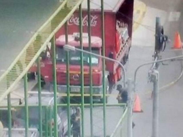 Arequipa: delincuentes asaltaron camión repartidor y se llevaron casi 1000 soles