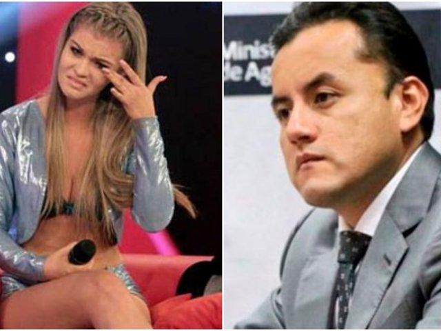 Brunella Horna confirmó que se encuentra distanciada de Richard Acuña