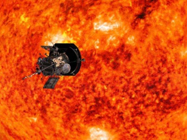 NASA revela como una de sus naves entró por primera vez en el Sol