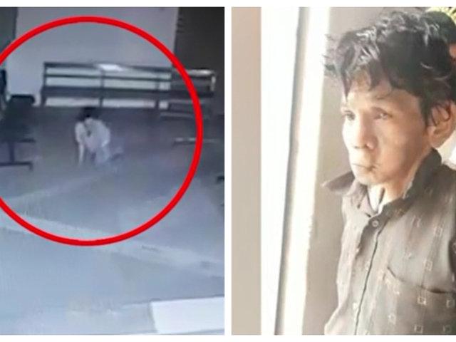 Tumbes: ladrón 'gatea' para robar dinero en empresa de transportes