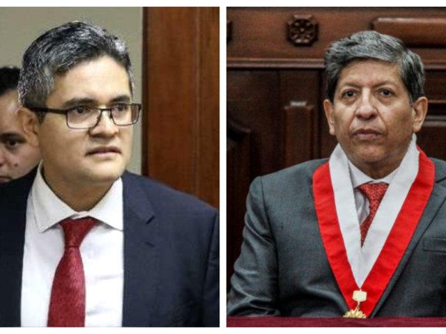 Fiscal Domingo Pérez presentó denuncia contra magistrado Carlos Ramos
