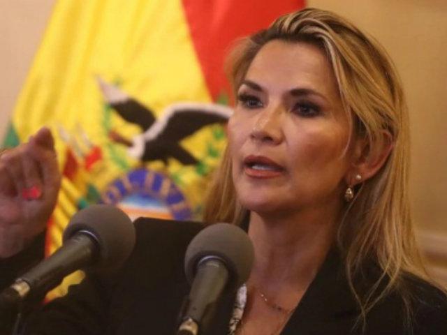 Bolivia: gobierno interino descartó que Áñez postule a la presidencia