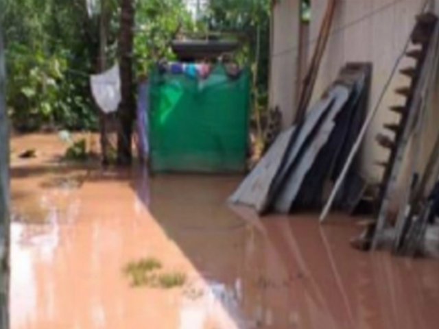 Huánuco: torrenciales lluvias provocaron colapso de drenaje