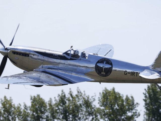 Avión de la II Guerra Mundial retornó a Reino Unido tras recorrer el mundo