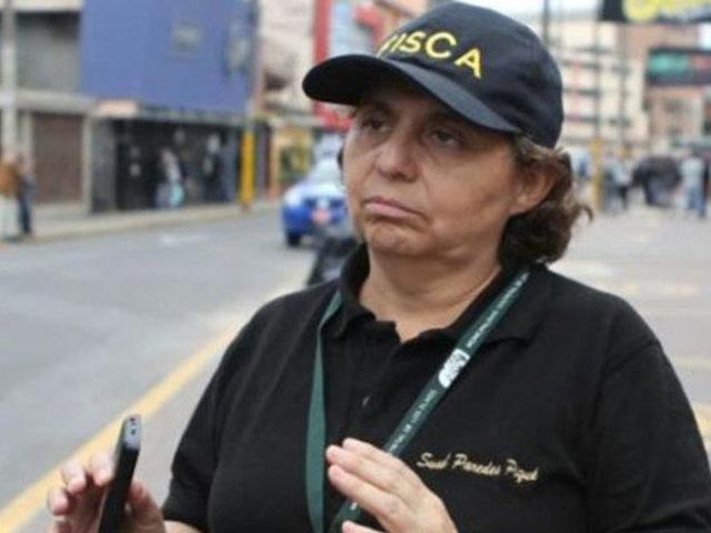 Susel Paredes se pronuncia tras enfrentamiento entre ambulantes y fiscalizadores