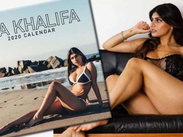 ¡De Infarto!: Mia Khalifa promociona su calendario 2020 en redes sociales