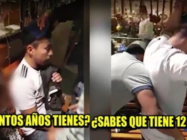 SMP: capturan a presunto pedófilo cuando iba a llevar a menor de edad a hostal