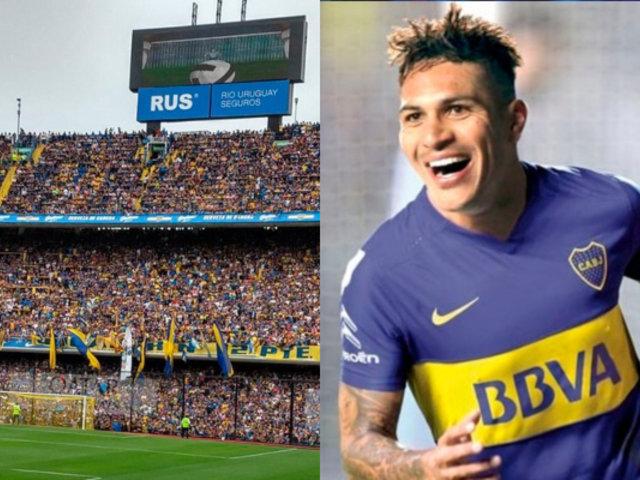 """""""Hecho a imagen y semejanza"""": Paolo Guerrero jugaría en Boca Juniors hasta los 40 años"""