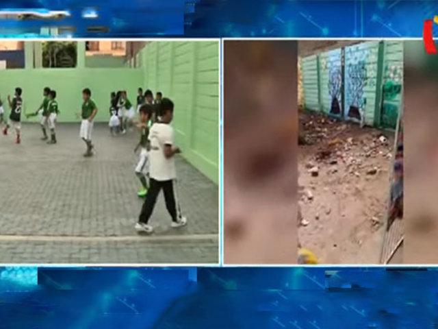 Refaccionan colegio primario con adoquines de plástico reciclado