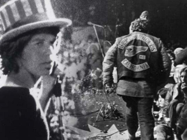 Se cumplen 50 años del concierto de los Rolling Stones que terminó en tragedia