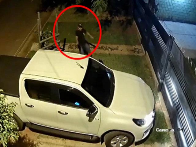 Paraguay: asesinan a quemarropa a exjuez en la puerta de su casa