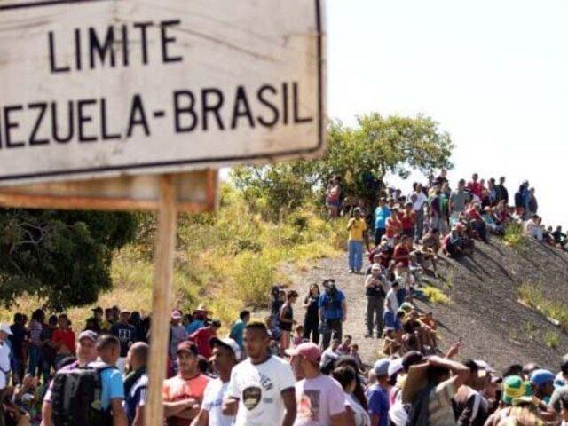 Gobierno de Brasil da refugio a 21.000 venezolanos en un día