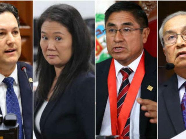 Daniel Salaverry reveló que Keiko Fujimori coordinaba con César Hinostroza y Pedro Chávarry