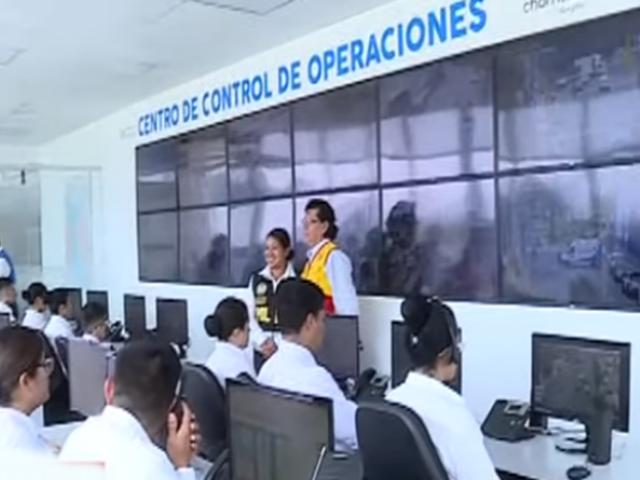 Chorrillos inaugura moderno sistema de monitoreo de seguridad