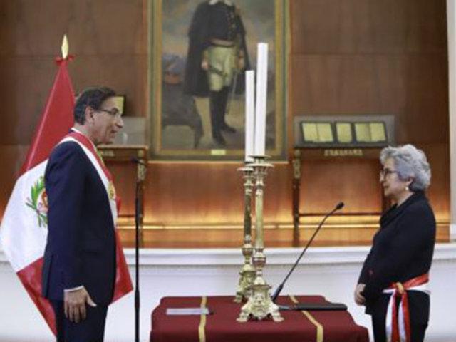 Sonia Guillén Oneeglio juró como nueva ministra de Cultura