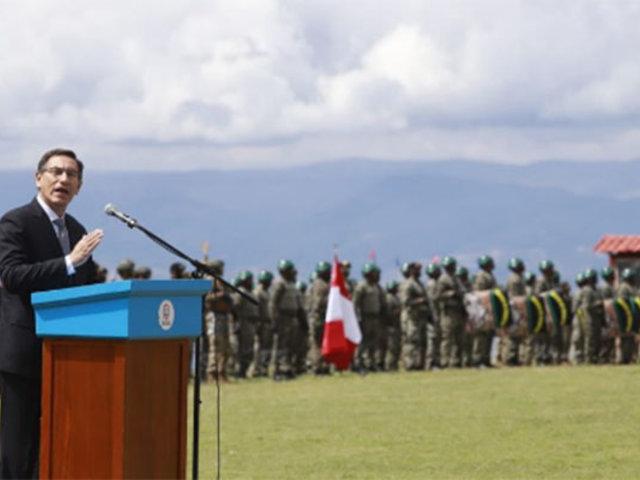 Presidente Vizcarra: Gobierno seguirá haciendo cumplir la voluntad popular