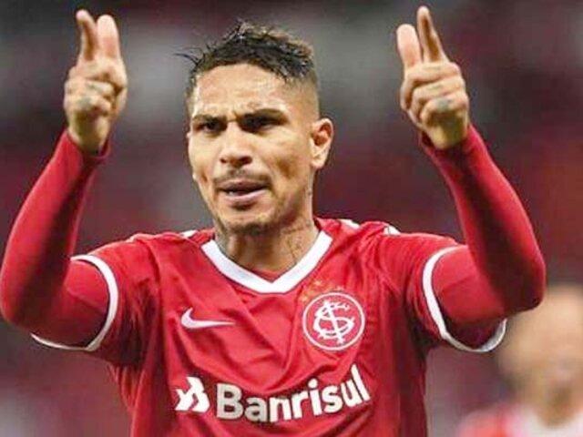 ¡Se queda! Paolo Guerrero renovó contrato con el Inter de Porto Alegre hasta 2021