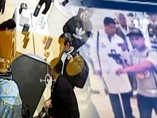Robo de los S/.300 mil: detienen a miembros de banda que asaltó prestigiosa tienda