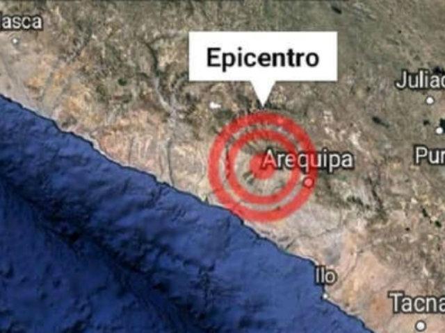 Arequipa: sismo de magnitud 4.5 remece la provincia de Caylloma