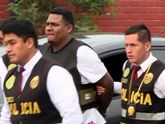 Detienen a sujeto que robó a taxista durante persecución en La Molina