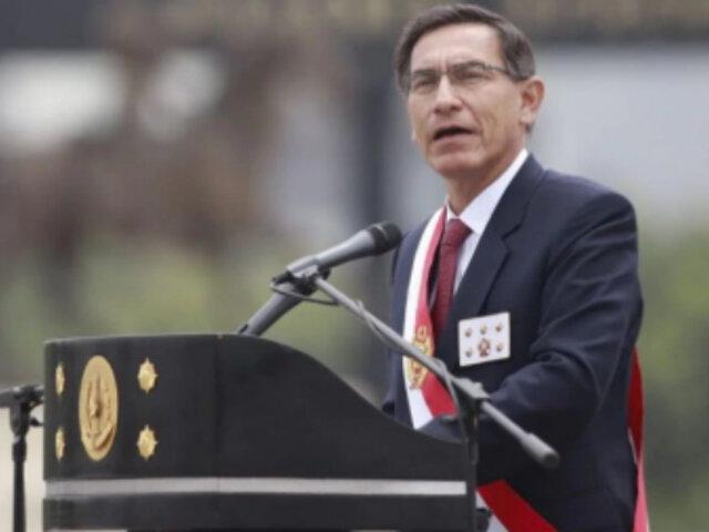 Presidente Vizcarra: los actos de unos pocos no opacarán a una institución como el Ejército