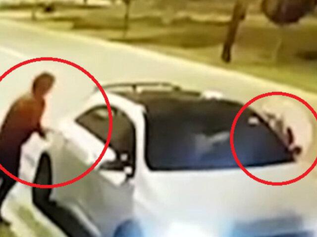 Surco: chofer armado frustró asalto y hace huir a delincuentes