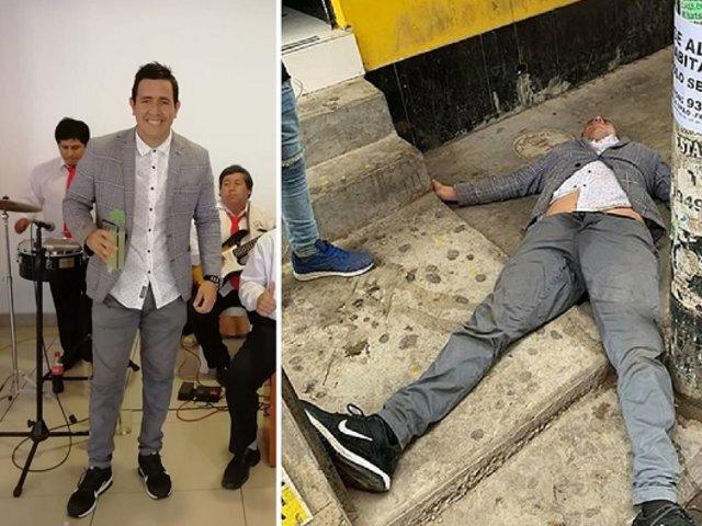 Regidor de Ascope es hallado inconsciente frente a un bar