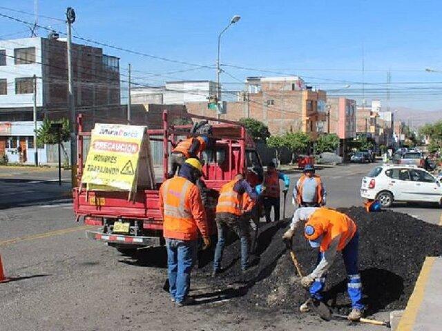 Arequipa: Municipio de Miraflores denunciará a Sedapar por dañar asfaltado