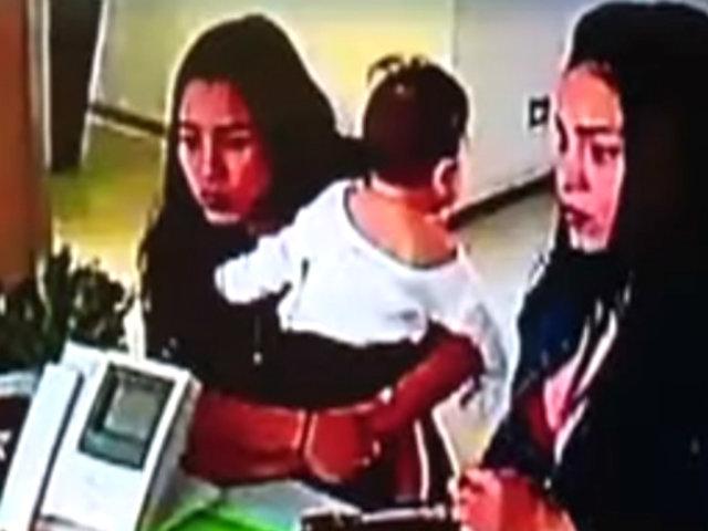 Rapto frustrado de bebé: madre habría sido dopada por desconocidas