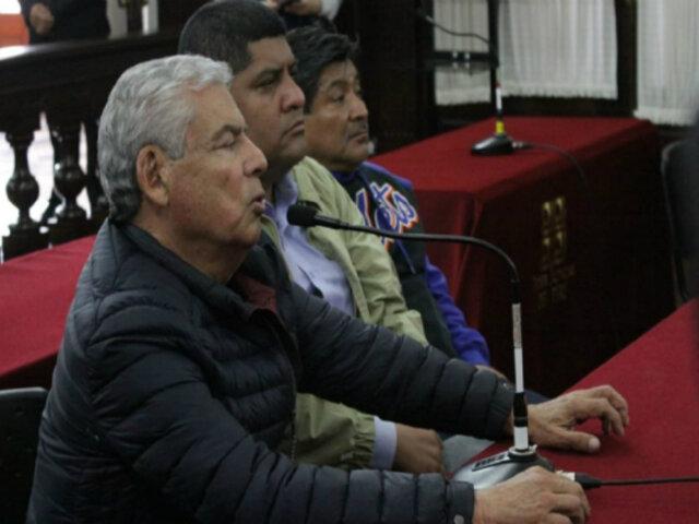 César Villanueva: PJ evalúa pedido de 18 meses de prisión preventiva en su contra