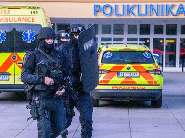 Al menos 6 muertos dejó balacera en hospital de República Checa