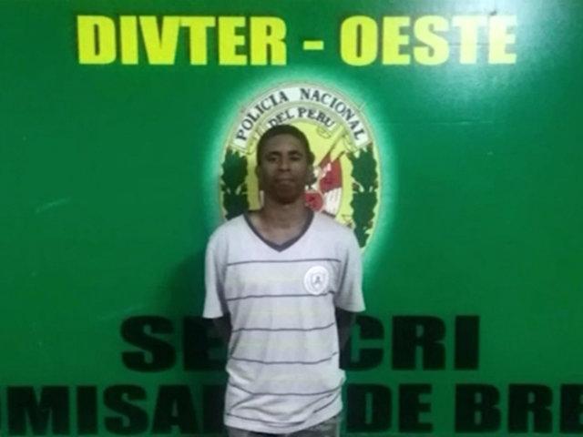 Breña: sujeto con más de 30 denuncias por robo fue capturado nuevamente