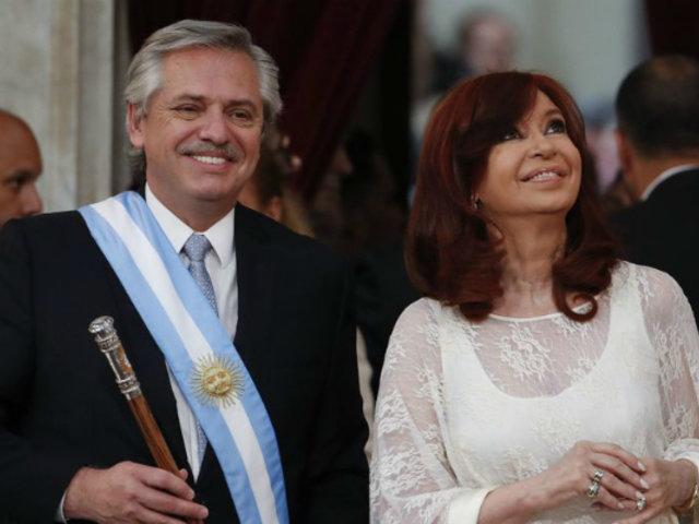 Alberto Fernández asume la presidencia de Argentina