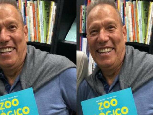 Raúl Romero presentará su primer libro infantil ''Zooilógico''