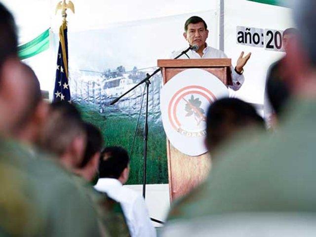 Ministro Morán: Perú erradicó más de 25 mil hectáreas de coca ilegal