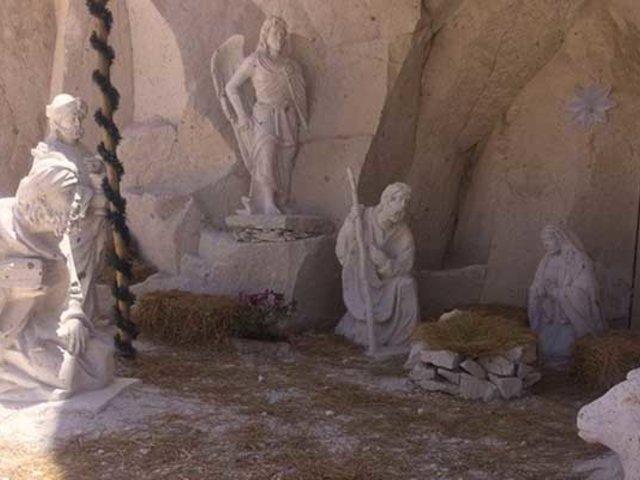 Arequipa: nacimiento tallado en sillar cautiva a turistas nacionales y extranjeros