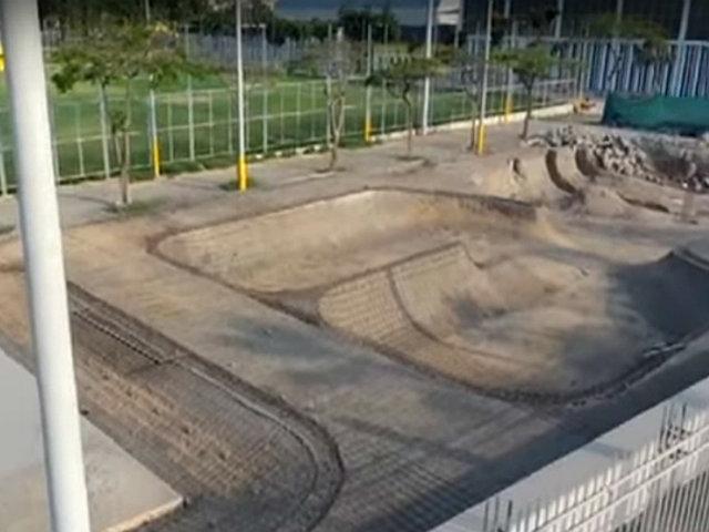 Los Olivos: Otro 'skate park' en malas condiciones