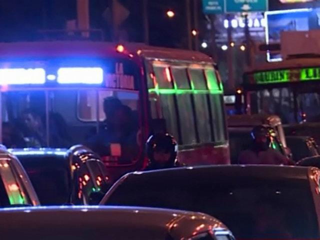 Barranco: caos vehicular por cambio de sentido en principales avenidas