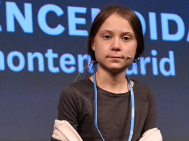 """Greta Thunberg fue elegida como """"persona del año"""" por revista Time"""