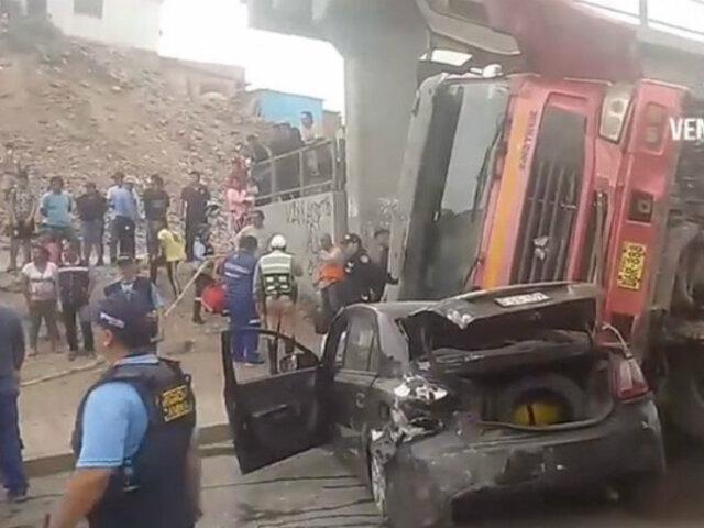 Ventanilla: múltiple choque en Av. Néstor Gambetta deja varios heridos
