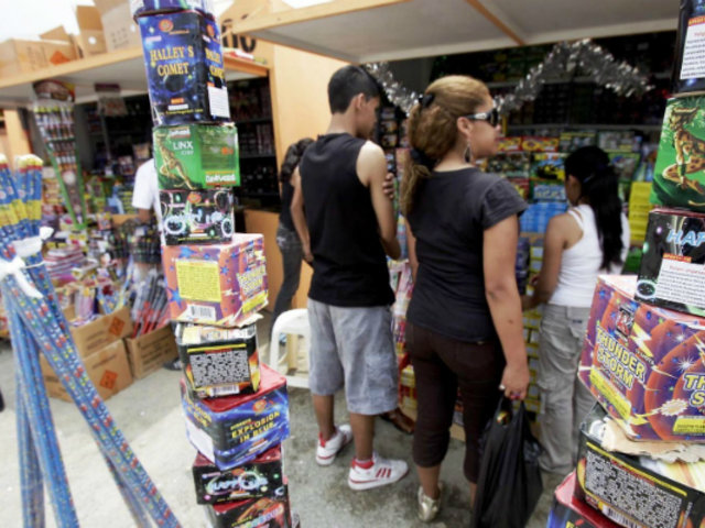 Sucamec: solo 6 ferias pirotécnicas cuentan con autorización a nivel nacional