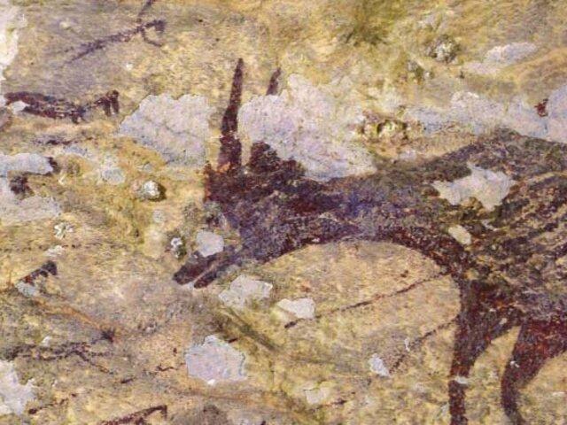 Descubren la obra de arte más antigua de la humanidad