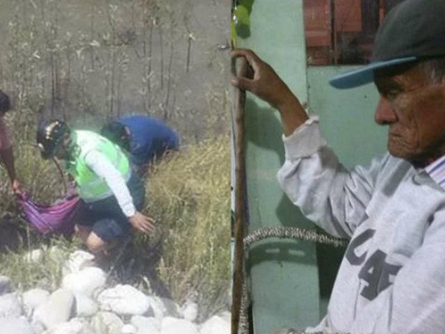 Arequipa: hallan muerto a anciano cerca al balneario de Chancharay