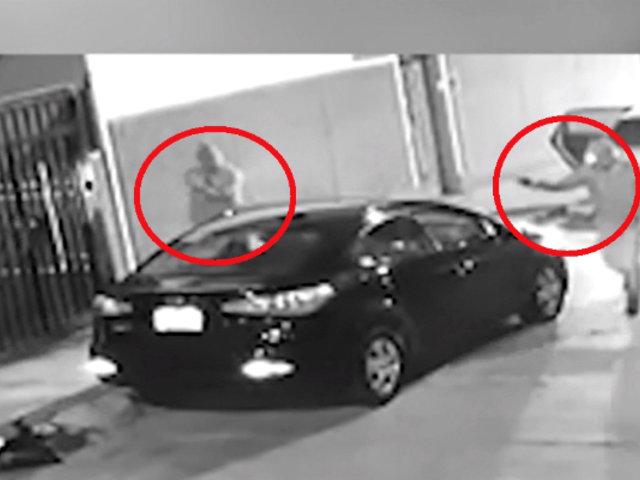 Pueblo Libre: delincuentes armados roban vehículo a hombre en cuestión de segundos