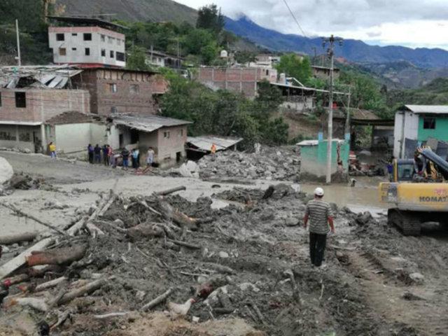 Piura: declaran en emergencia provincia de Huancabamba tras daños por fuertes lluvias