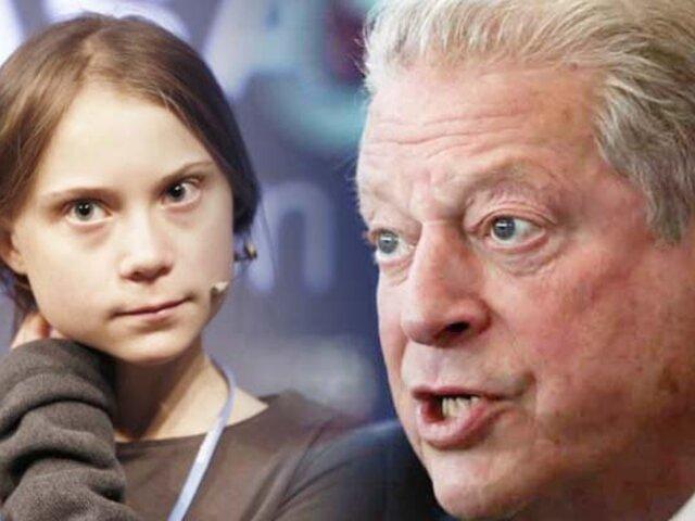 """Al Gore desde Madrid: """"Soy el mayor fan de Greta Thunberg"""""""